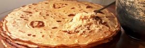Recette des crêpes à la farine de petit épeautre