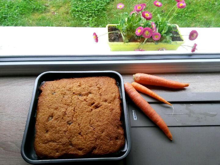 recette originale du gâteau aux carottes