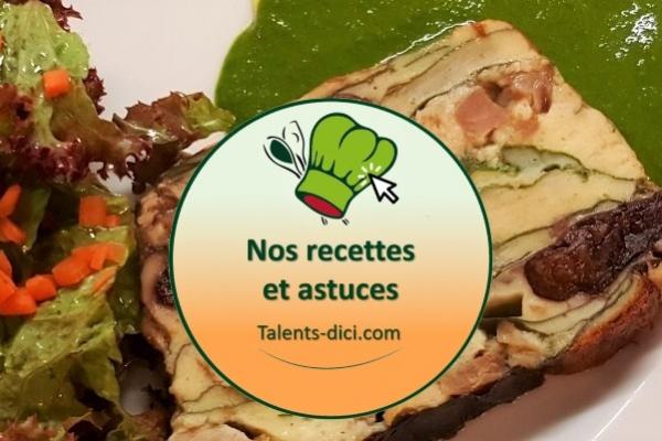 Recettes à bases de produits fermiers locaux d'Auvergne