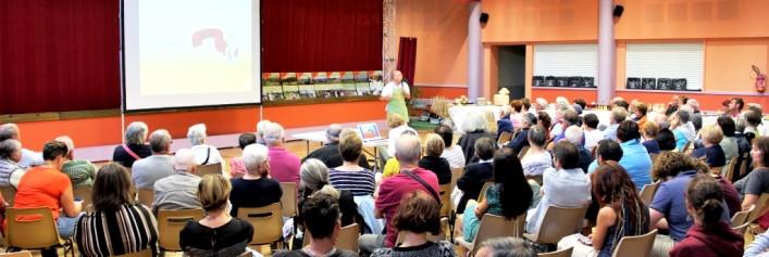 réunion magasin de producteurs à Massiac Auvergne