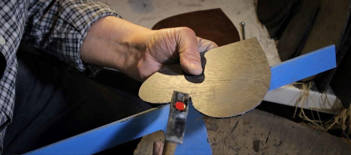 Ardoise taillée au magasin d'artisans Auvergne