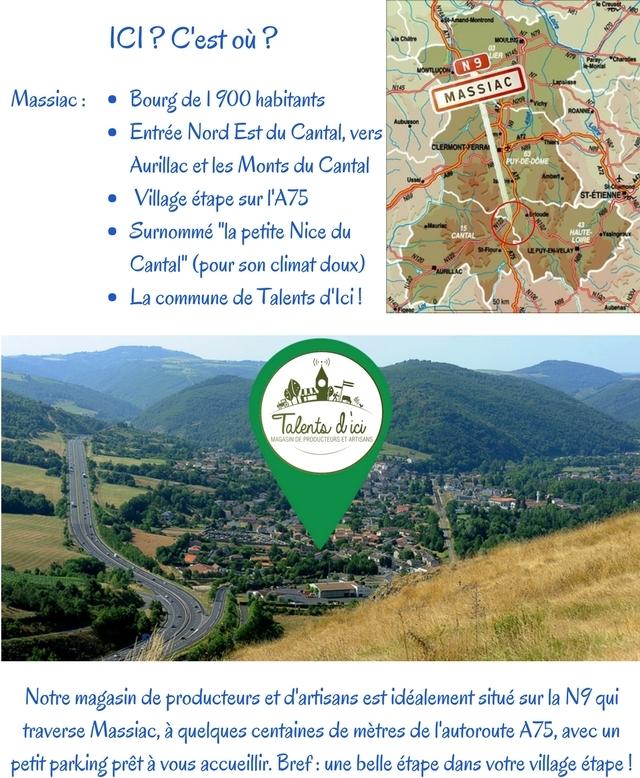 le terroir en Auvergne autour du magasin de producteurs