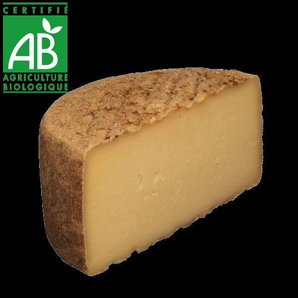 fromage tome de chèvre et brebis bio d'Auvergne