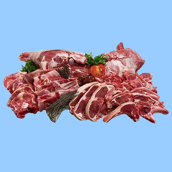 viande fraîche d'agneau produite à la ferme du Cantal en Auvergne