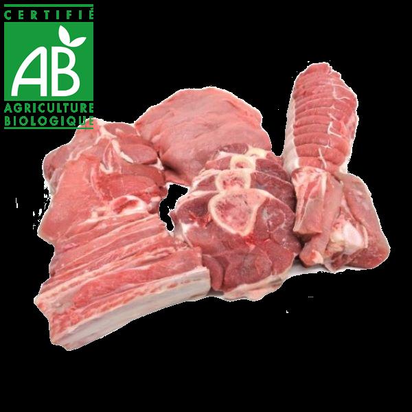 viande de veau fermier bio en vente drive local Auvergne