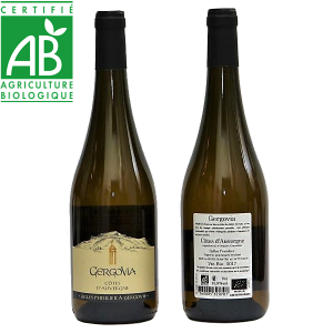vin blanc bio Côtes d'Auvergne AOC - Gergovia - Gilles Persilier