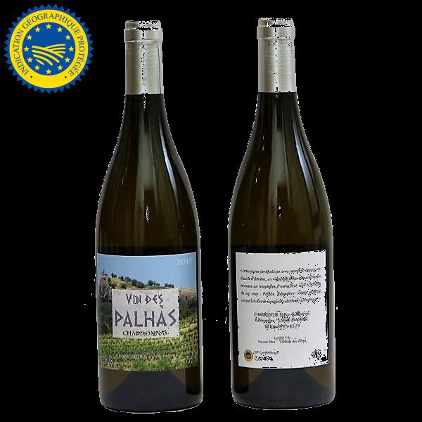 vin rblanc des Palhas IGP Comte Tolosan - Simon Chabaseur