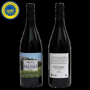 vin rouge des Palhas IGP Comte Tolosan - Simon Chabaseur